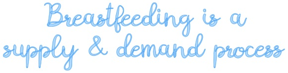 Breastfeeding is a supply and demand process. The more you breastfeed, the more your body will produce milk.